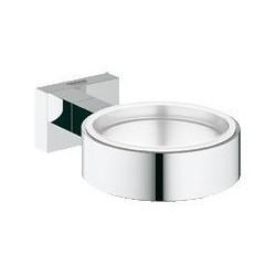Grohe Essentials Cube, porte-verre, chromé