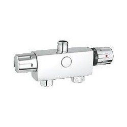 "Grohe Automatic 2000 Compact mitigeur thermostatique ½"", montage mural, EcoJoy, chromé"