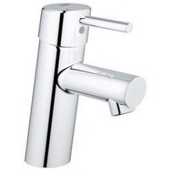 """Grohe Concetto mitigeur monocommande ½"""" pour lavabo, corps lisse, EcoJoy, chromé"""