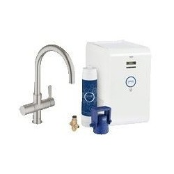Grohe Blue Chilled mitigeur évier C-bec