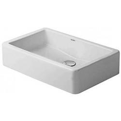DURAVIT Vero Vasque 60 cm sans trop-plein et sans trou robinetterie - Blanc