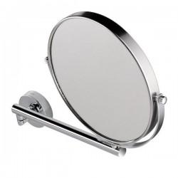 GEESA Miroir à barbe, un bras orientable, simple et 3x grossisant, ø 190 mm