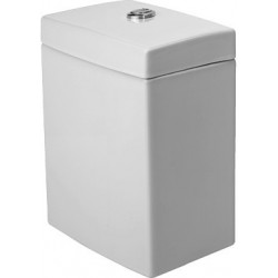 DURAVIT 2nd floor RESERVOIR EQUIPE 2ND FLOOR BLANC MEC.CHROME ECO.D'EAU 3/6L ALIM. DES