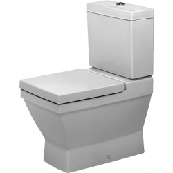 DURAVIT 2nd floor WC COMBI 2ND FLOOR  BLANC