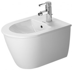 DURAVIT Darling New Bidet  suspendu  DARLING NEW COMPACT BLANC  WONDERGLISS