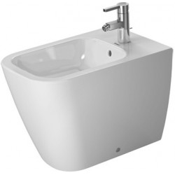 DURAVIT Happy D.2 Bidet  s/PIED 57 cm Happy D.2 BLANC BACK TO WALL, WGL