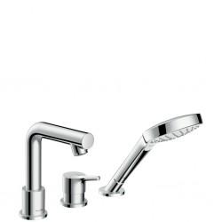 HANSGROHE  Talis S (New) mélangeur 3 trous pour bain SF chr.