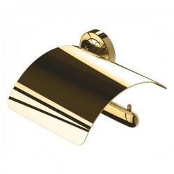 GEESA Porte-papier rouleau avec couvercle, droit