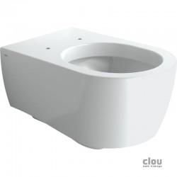 clou First toilette à suspendre, céramique blanche