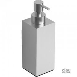 clou Quadria distributeur de savon, à suspendre, inox brossé