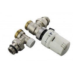 Vanne thermostatique Equerre