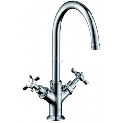 Axor Hansgrohe Montreux mitigeur lavabo Nickel bross
