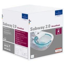 Villeroy & Boch Subway 2.0 Combipack céramique - Blanc CeramicPlus