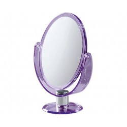 GEDY MIROIR OVAL AVEC APPUI LILAS