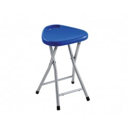 Gedy Tabouret repliable - Bleu