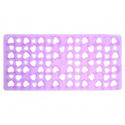 GEDY TAPIS ANTIDERAPANT CUORE LILAC