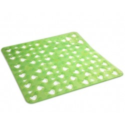 GEDY TAPIS ANTIDERAPANT CUORE VERT