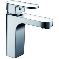 Bari Robinet de lavabo Vidage automatique Chrome