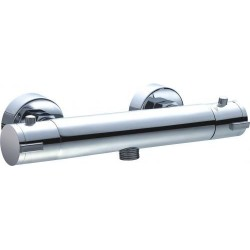 Lugano Robinet de douche Thermostatique NU Chrome