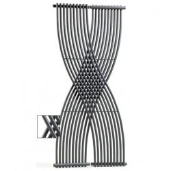 BANIO Radiateur Sèche-serviette  Modèle  GEMINI                     Couleur : Chromé  Largeur:   820 Hauteur: 1.700