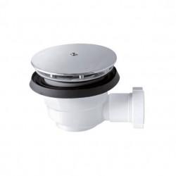 PONSI Siphon de 90 mm 70 mm de hauteur pour receveur de douche