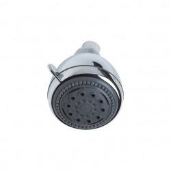PONSI Tête de douche tronde en ABS diamêtre 8,5 cm 3 jet