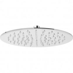 PONSI Tête de douche rond ultra plat 2 mm diamètre 25 cm en inox