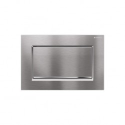 GEBERIT PLAQUE DE COMMANDE 1 TOUCHE SIGMA30 CHROME-MAT