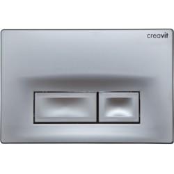Banio Ore wc Panneau de contrôle  chrome mat