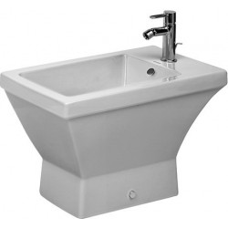 DURAVIT 2nd floor Bidet sur pied  2ND FLOOR BLANC 3TR  WONDERGLISS