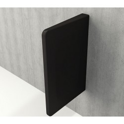 Banio Urinoir séparation - Noir mat