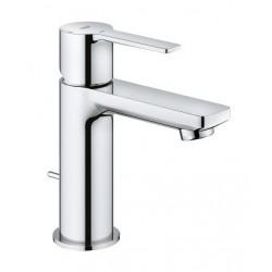 Grohe Lineare mitigeur monocommande lavabo, taille XS, 28 mm, vidage automatique, Silkmove ES, chromé