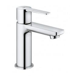 Grohe Lineare mitigeur monocommande lavabo, taille XS, 28 mm, coprs lisse et vidage push-open, chromé