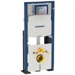 Geberit Duofix pour WC suspendu, 112 cm, avec chasse d'eau à encastrer Sigma 12 cm, autoportant, renforcé