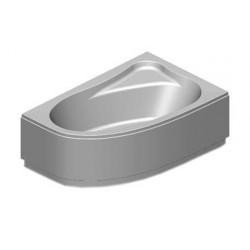 Panneau pour baignoire Lyra 153x100 droite