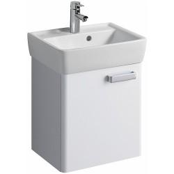 KERAMAG Meuble sous lave-mains Plan 410mm, blanc