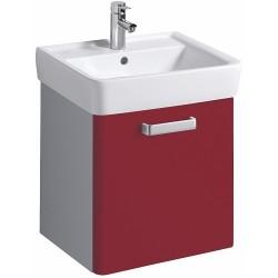 KERAMAG Meuble sous lavabo Plan 485mm, avec roulement, rubis