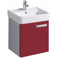 KERAMAG Meuble sous lavabo Plan 485mm, avec 1porte, rubis