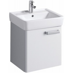 KERAMAG Meuble sous lavabo Plan 485mm, avec 1porte, blanc