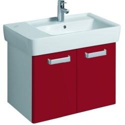 KERAMAG Meuble sous lavabo Plan 670mm, rubis