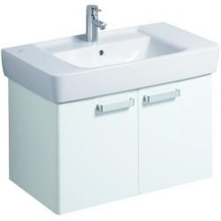 KERAMAG Meuble sous lavabo Plan 670mm, blanc