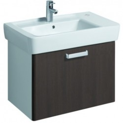 KERAMAG Meuble sous lavabo WTU 670mm, wengé, pour lavabo 122180