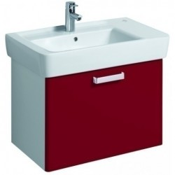 KERAMAG Meuble sous lavabo WTU 670mm, rubis, pour lavabo 122175