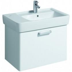 KERAMAG Meuble sous lavabo Plan 670mm, blanc, pour 122175
