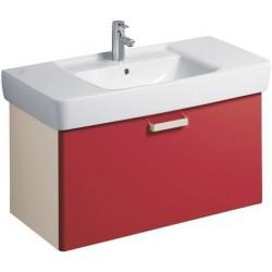 KERAMAG Meuble sous lavabo Plan 930mm, avec tiroir, rubis