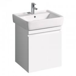 KERAMAG Meuble sous lave-mains Ren. Plan 470x586mm, blanc