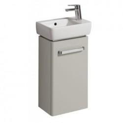 KERAMAG Meuble sous lave-mains Comprimo 348x604mm, gris clair