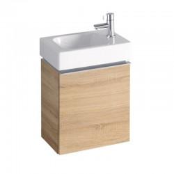 KERAMAG Meuble sous lave-mains iCon xs 370x280mm, chêne naturel