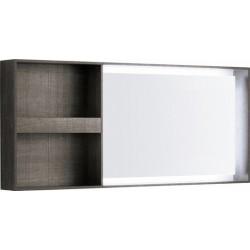 KERAMAG Elément de miroir Citterio 1334x584mm, gris