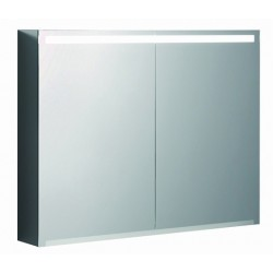 KERAMAG Option armoire vitrée 900mm, blanc